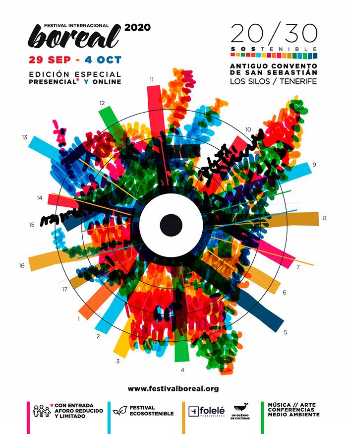 Festival Boreal regresa este 2020 con una serie de actividades Presenciales y Online, Adaptado a las posibilidades del momento y cumpliendo con todas las Medidas de Seguridad y Salud Pública