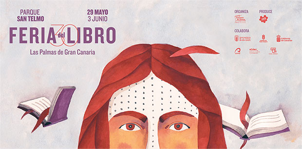 Presentada la programación de la XXX Feria del Libro de Las Palmas de Gran Canaria // CanariasCreativa.com
