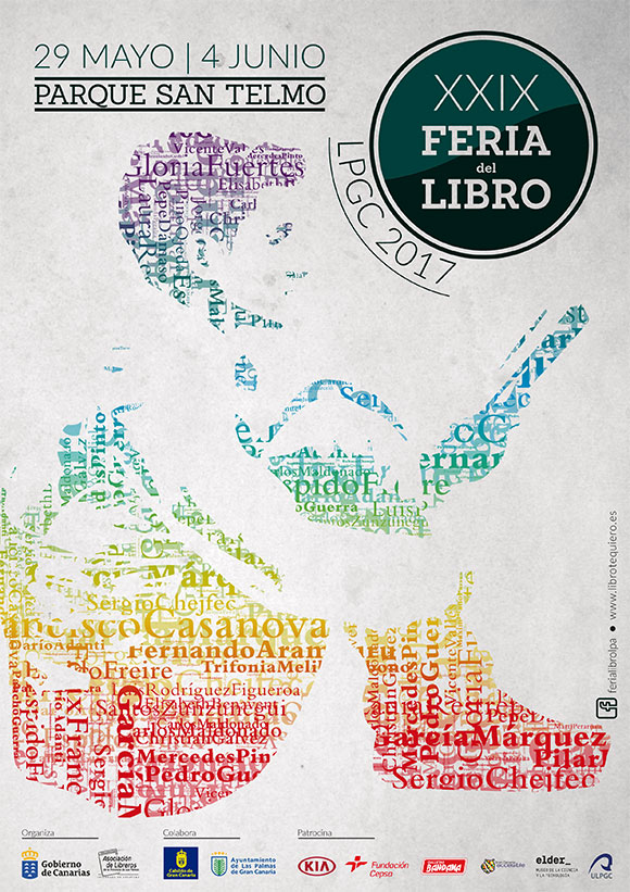Laura Restrepo, Sergio Chejfec, Jorge Galán, Sami Tchak y Trifonia Melibea asisten a la edición más regional de la Feria del Libro de Las Palmas de Gran Canaria // CanariasCreativa.com