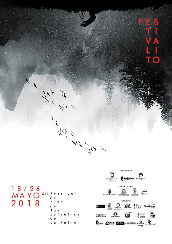 Del 18 al 26 de mayo vuelve el Festival de cine de las estrellas de La Palma // CanariasCreativa.com