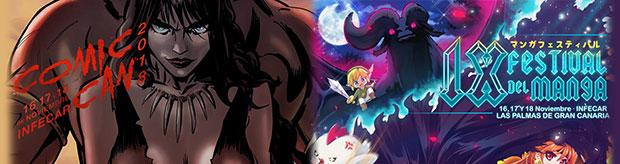 El Festival de Manga de Las Palmas – Comic-Can 2018 llega a Infecar del 16 al 18 de noviembre // CanariasCreativa.com