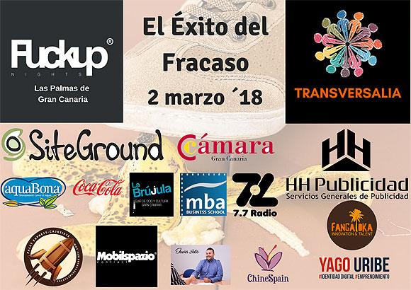 Las Palmas de Gran Canaria se incorpora al circuito mundial de las Fuckup Nights // CanariasCreativa.com