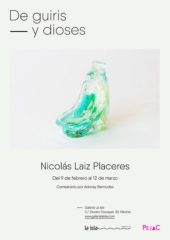 """""""De guiris y dioses"""" de Nicolás Laiz Placeres viaja a Galería La Isla (Madrid) // CanariasCreativa.com"""