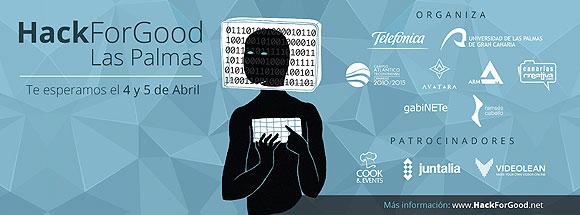 HackForGood regresa a la ULPGC como una de las 8 sedes nacionales organizadoras de la 2ª edición // CanariasCreativa.com