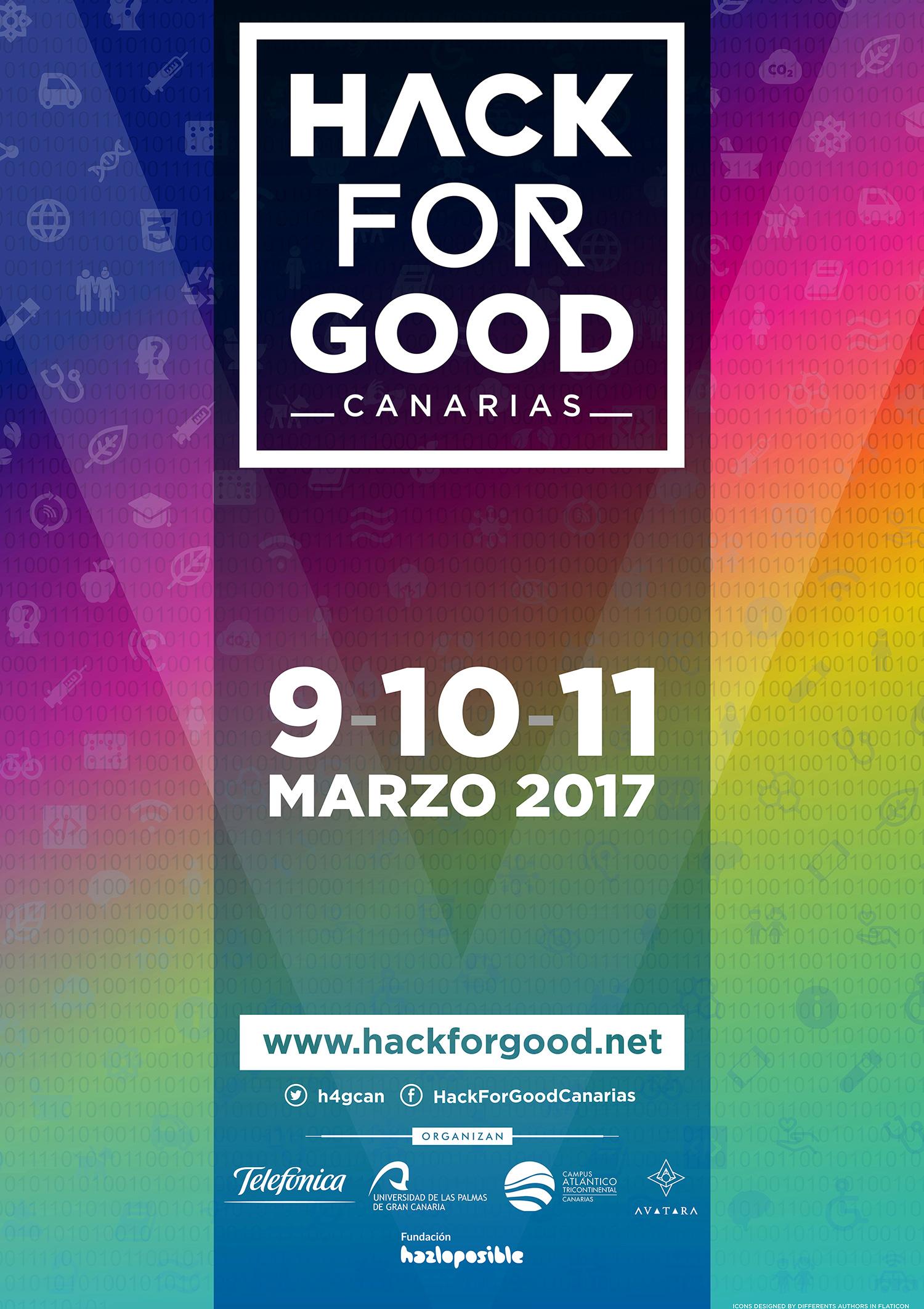 La ULPGC acoge, por quinto año consecutivo, el HackForGood Canarias en busca de soluciones tecnológicas que ayuden a mejorar el mundo // CanariasCreativa.com