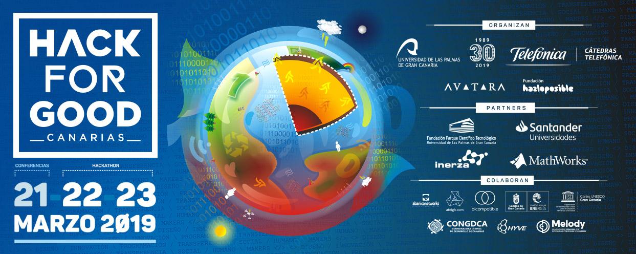 La ULPGC celebra, por séptimo año consecutivo, el hackathon de innovación social HackForGood Canarias. // CanariasCreativa.com