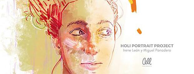 Cell Team (Irene León y Miguel Panadero) comienzan una acción de retratos solidarios en colaboración con Médicos del Mundo // CanariasCreativa.com