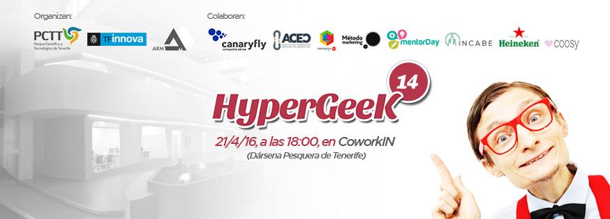 El Cabildo de Tenerife y la comunidad Hypergeek celebran un encuentro entre emprendedores e innovadores  // CanariasCreativa.com