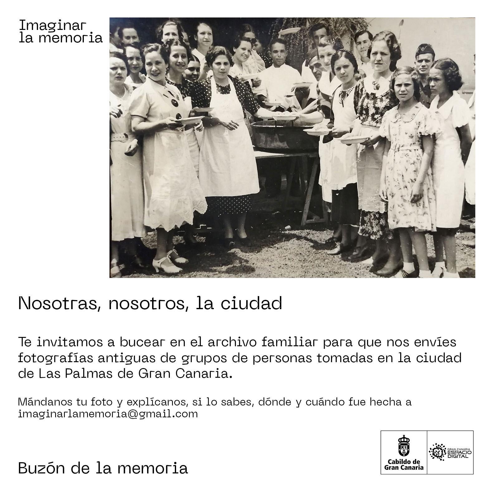 El proyecto «Imaginar la memoria» llama a recuperar la memoria oral y visual de Las Palmas de Gran Canaria a través de diversos llamamientos a la participación ciudadana. // CanariasCreativa.com