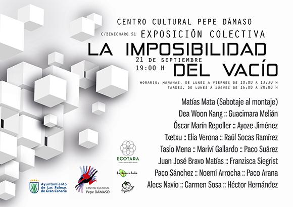 El arte contemporáneo multidisciplinar invade el Centro Cultural Pepe Dámaso // CanariasCreativa.com