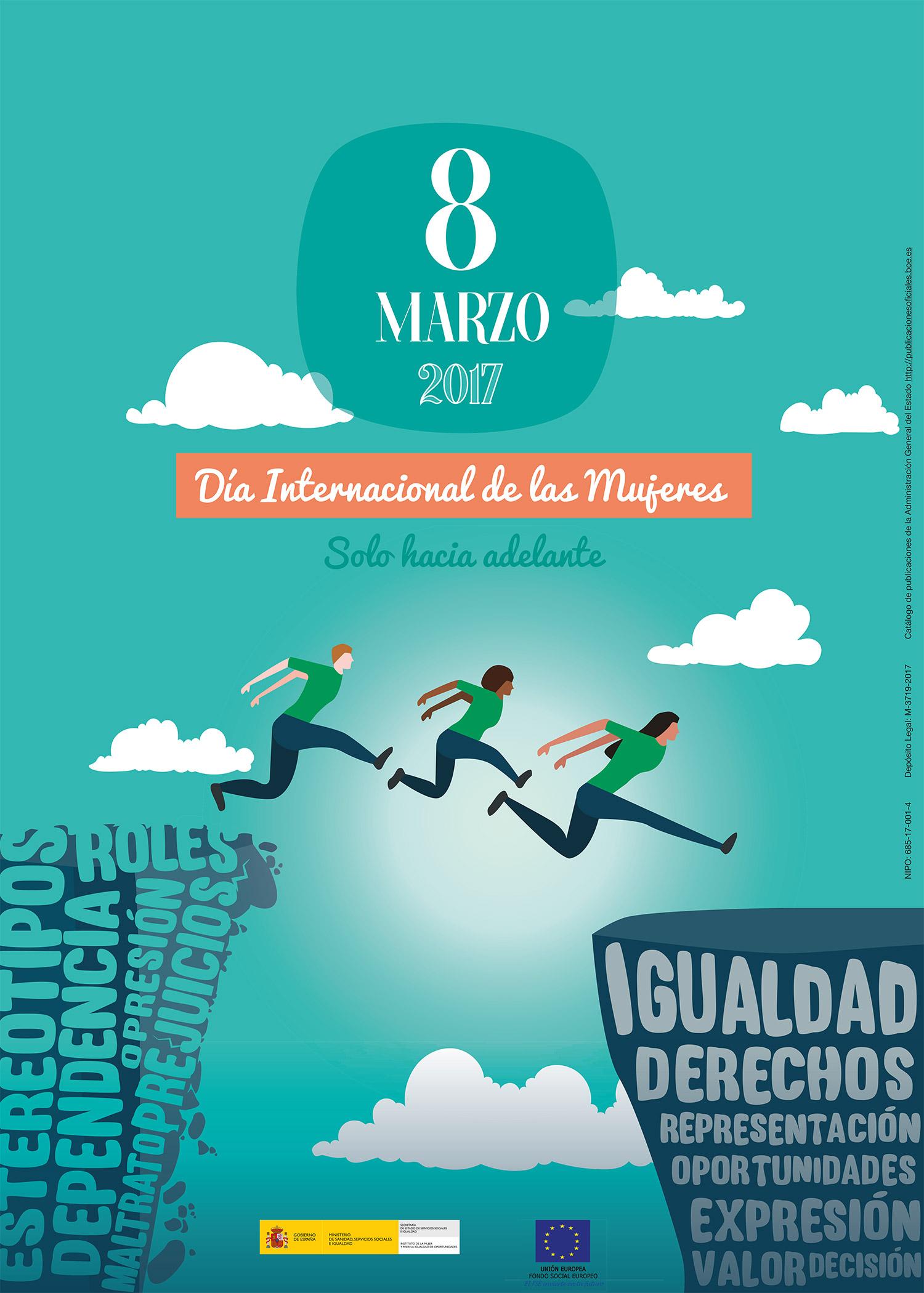 """Dos canarios estudiantes del Grado en Diseño de la ULL galardonados en el concurso de diseño gráfico, """"Diseñando la Igualdad, 2017"""" del Instituto de la Mujer y para la Igualdad de Oportunidades del Ministerio de Sanidad, Servicios Sociales e Igualdad // CanariasCreativa.com"""