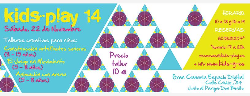 Kids-play 14 - Talleres creativos para niños - Gran Canaria // CanariasCreativa.com