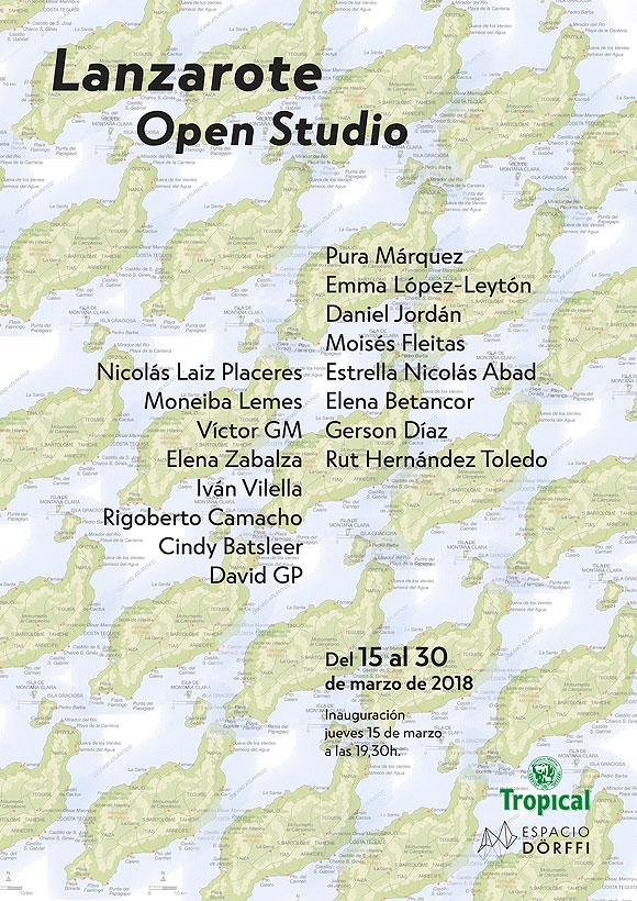 16 artistas de Lanzarote presentan su trabajo en Espacio Dörffi. // CanariasCreativa.com
