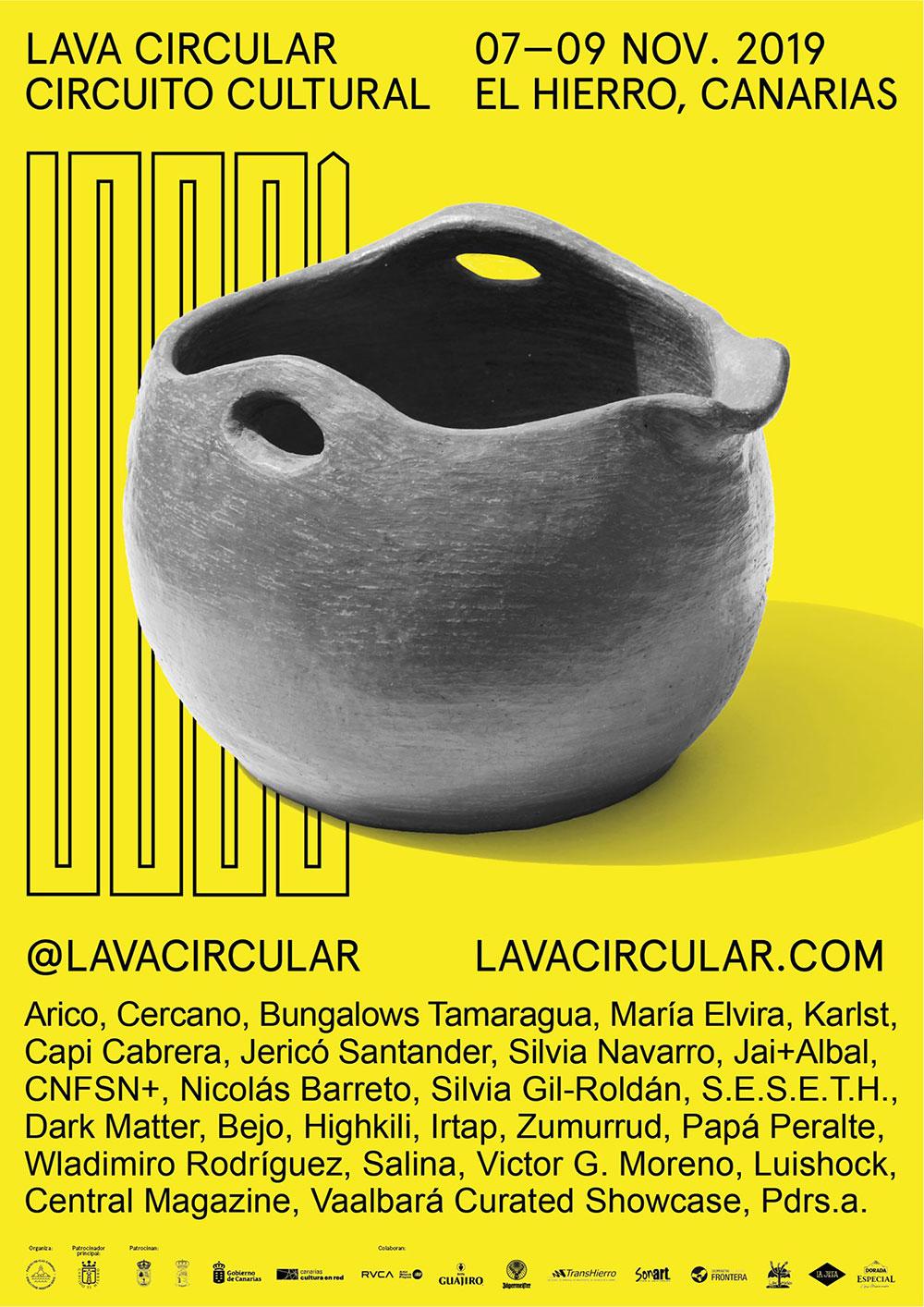 «Lava Circular» arranca del 7 al 9 de noviembre en El Hierro. // CanariasCreativa.com