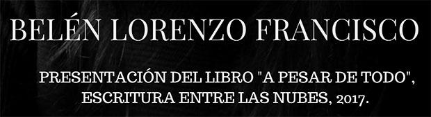 El Ciclo de Lectura del Atlántico acoge a la palmera Belén Lorenzo Francisco el próximo 15 de diciembre. // CanariasCreativa.com