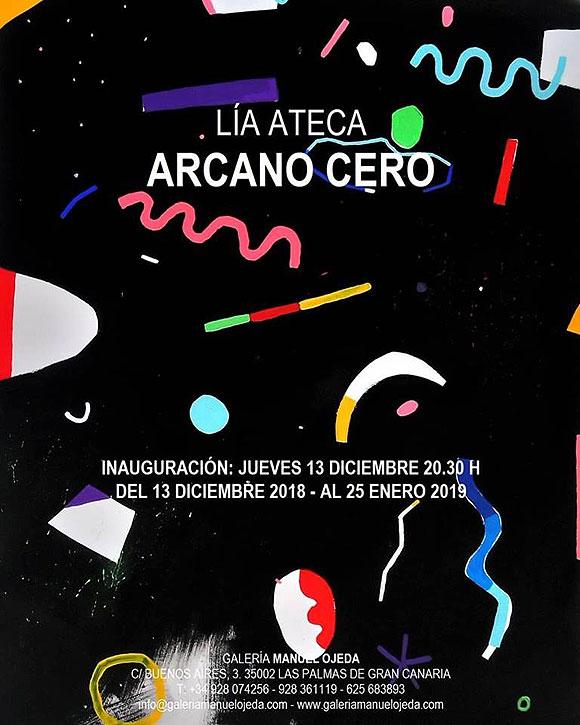 Lía Ateca expone «Arcano Cero» en la Galería Manuel Ojeda // CanariasCreativa.com