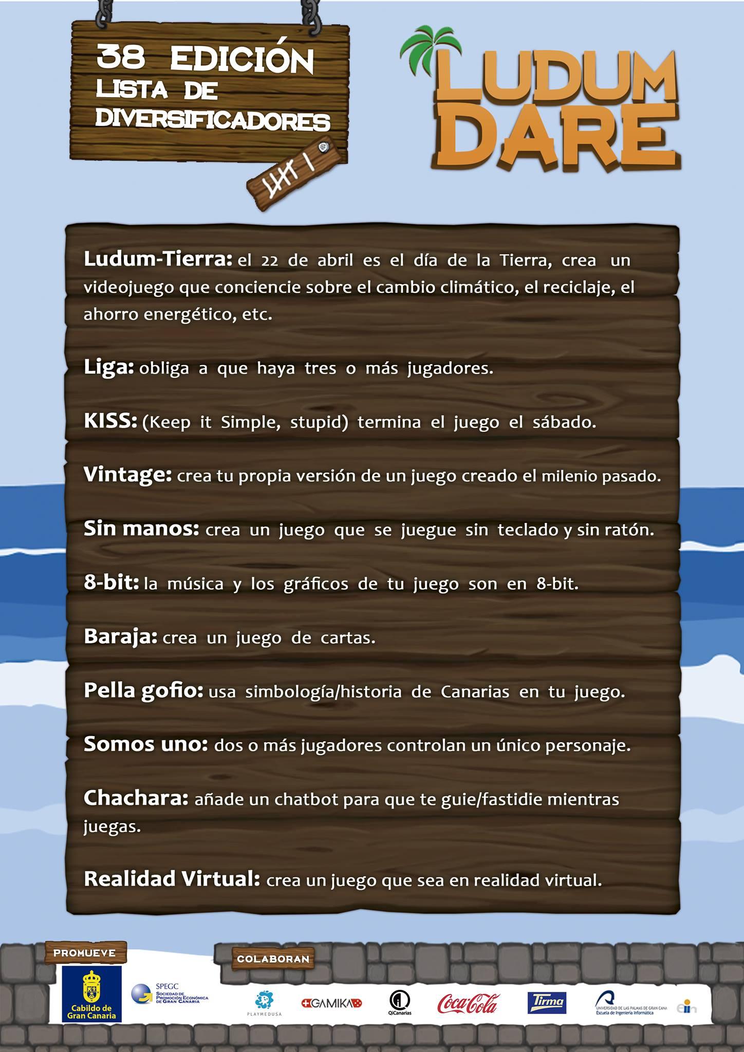 Ludum Dare regresa a Gran Canaria del 21 al 23 de abril // CanariasCreativa.com