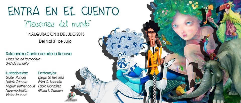 """Exposición de ilustración """"Entra en el cuento"""" // CanariasCreativa.com"""