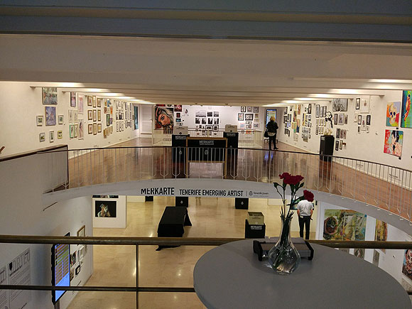 El Cabildo de Tenerife muestra el talento creativo de los jóvenes artistas con Merkarte, el Mercado del Arte // CanariasCreativa.com