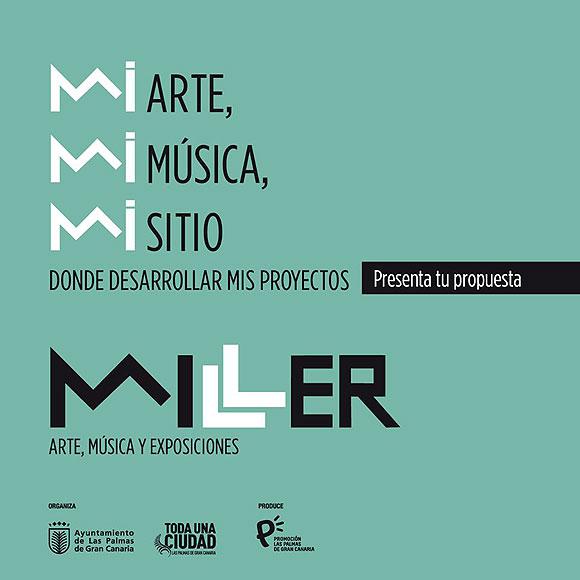 El área de Cultura del Ayuntamiento de Las Palmas de Gran Canaria tiene abierta una convocatoria para desarrollo de proyectos en un nuevo centro de cultura municipal: el edificio Miller