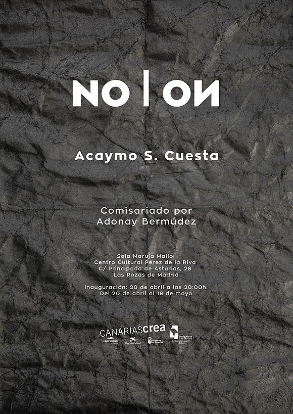 El artista canario Acaymo S. Cuesta muestra su obra reciente en Las Rozas // CanariasCreativa.com