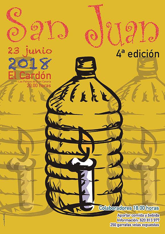 El artista Paco Arana desplegará, por cuarto año consecutivo, una acción artística colaborativa por San Juan.