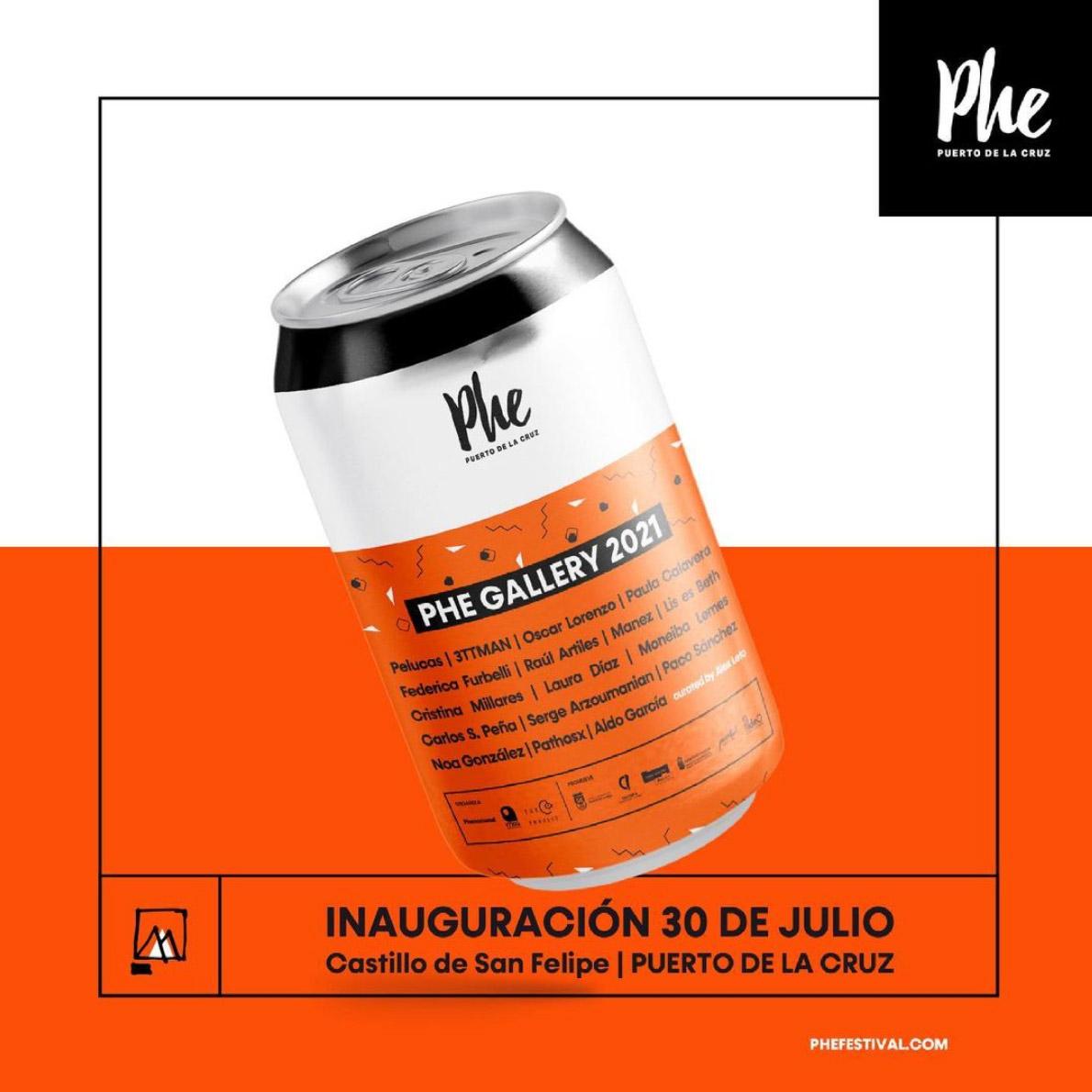 Vuelve la «Phe Gallery 2021» a partir del 30 de julio con una selección de 17 artistas // CanariasCreativa.com