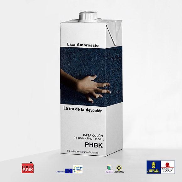 La fotógrafa mexicana Liza Ambrossio llega este jueves 31 de octubre a la iniciativa artístico-solidaria  Photobrik // CanariasCreativa.com