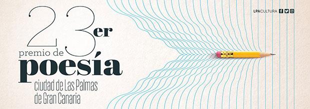 Convocado el 23er Premio de Poesía Ciudad de Las Palmas de Gran Canaria. // CanariasCreativa.com