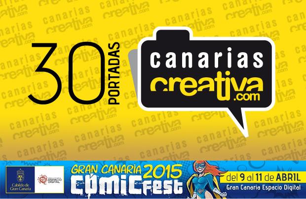 CanariasCreativa.com estará presente en el Gran Canaria Cómic Fest con la exposición