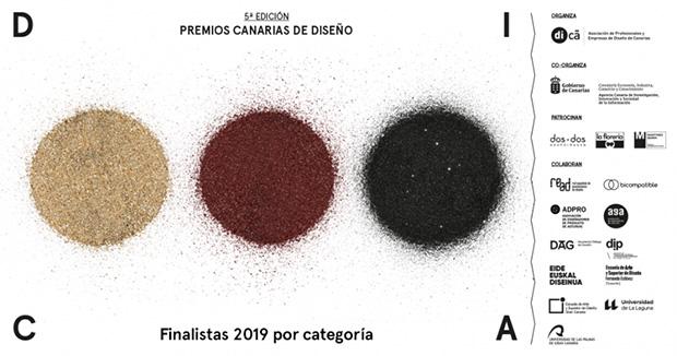 Seleccionados los 91 trabajos finalistas que optan a los Premios Canarias de Diseño // Canarias Creativa.com