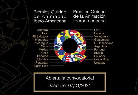 Los Premios Quirino de la Animación Iberoamericana abren convocatoria para su cuarta edición // CanariasCreativa.com