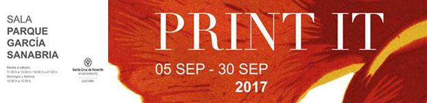 Print it, exposición colectiva, en el García Sanabria // CanariasCreativa.com