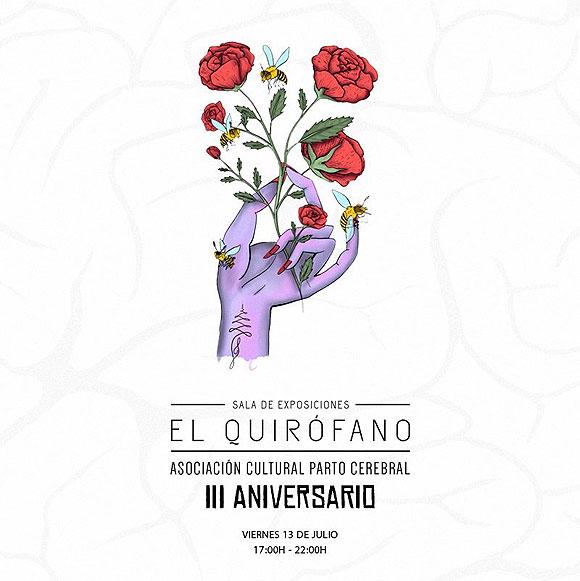 El tercer aniversario de la Sala de exposiciones El Quirófano se celebra mañana en Arrecife con un con un mercado de arte en la plaza del CSC La Vega // CanariasCreativa.com
