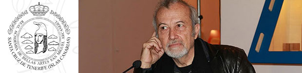 La Real Academia Canaria de Bellas Artes premia al escultor Juan Bordes Caballero por su trayectoria artística