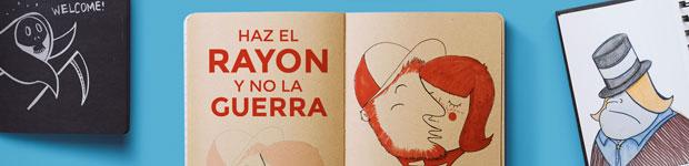 Haz el rayón y no la guerra - Rayon.es // CanariasCreativa.com