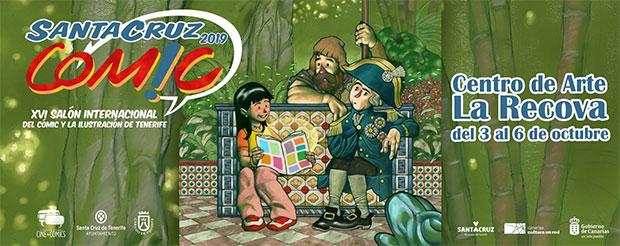 El Salón Internacional del Cómic y la Ilustración de Tenerife ya tiene fecha y cartel oficial // CanariasCreativa.com