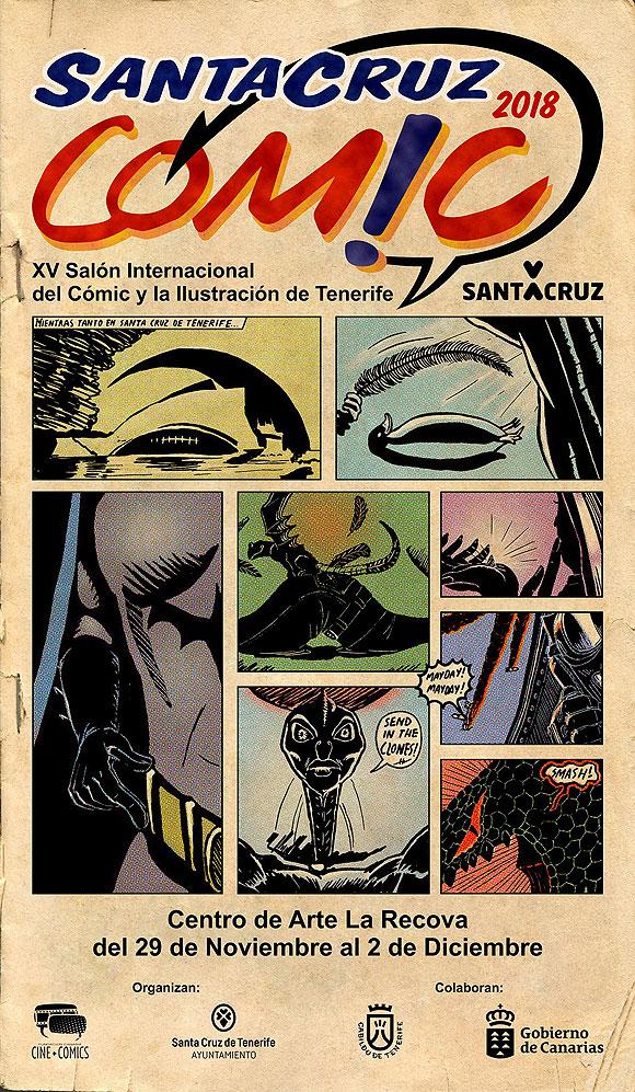 El XV Salón Internacional del Cómic y la Ilustración de Tenerife ya tiene fecha y cartel oficial. // CanariasCreativa.com