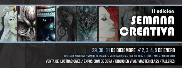 II Edición de la Semana Creativa del Colectivo de Ilustradores   //  CanariasCreativa.com