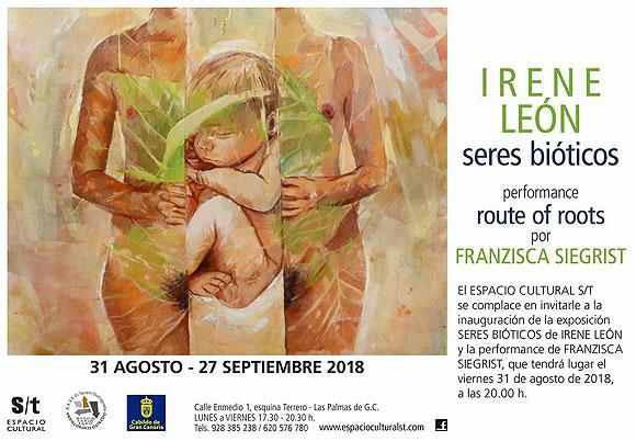 Los «Seres Bióticos» de Irene León invaden el espacio cultural S/t // CanariasCreativa.com