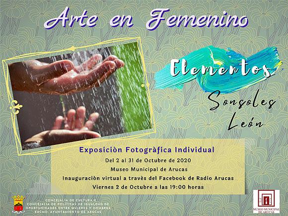 Sonsoles León afronta su primera exposición individual en el Museo Municipal de Arucas // CanariasCreativa.com