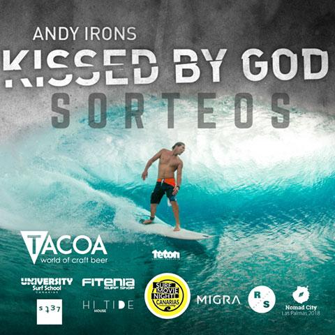 El estreno de la película «Andy Irons: Kissed by God« tendrá dos fechas en Canarias dentro de su tour mundial. // CanariasCreativa.com