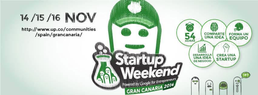 Startup Weekend Gran Canaria 2014 // CanariasCreativa.com