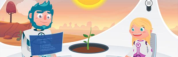 Aventuras a lo grande con cosmonautas en miniatura - Tiny Cosmonauts - Tinytrees // CanariasCreativa.com
