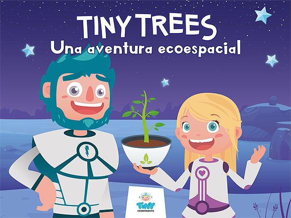 Tiny Trees se convierte en aventura transmedia al saltar de las pantallas al papel // CanariasCreativa.com