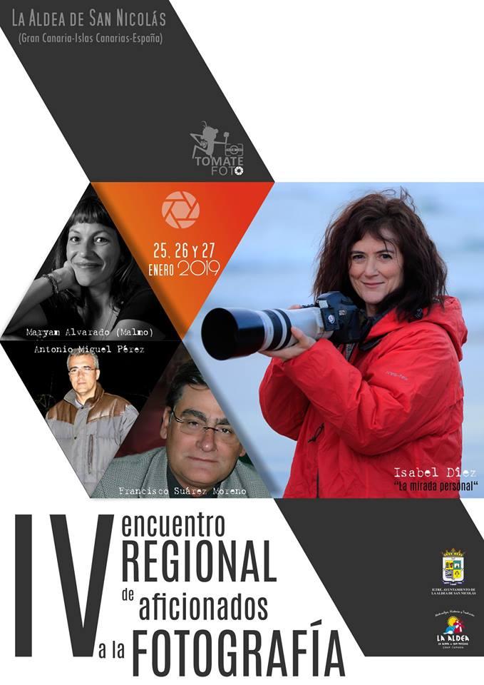 IV Encuentro Regional de Fotografía TomateFoto La Aldea 2019, los próximos días 25, 26 y 27 de enero 2019 // CanariasCreativa.com