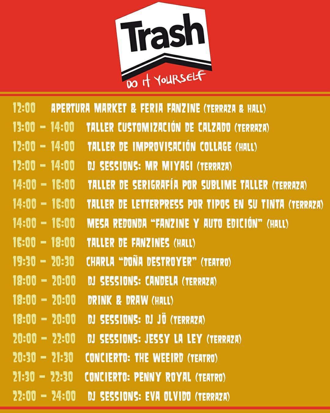 «Trash Fest», festival de la autoedición y el fanzine, el próximo sábado 27 de abril en Santa Cruz de Tenerife. // CanariasCreativa.com